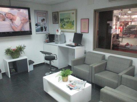 עמדת המתנה, מרכז שירות קרל – קיה רמת גן