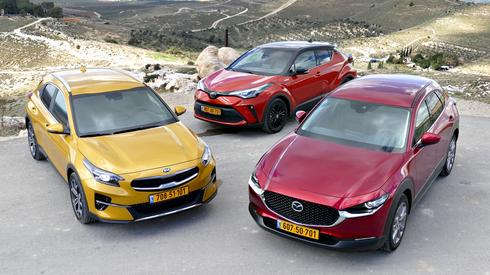 קיה exceed רכב הפנאי הטוב של ישראל 2020